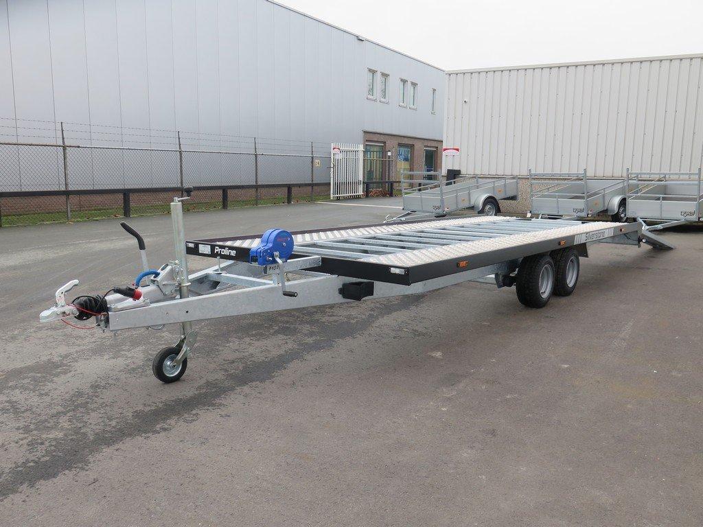 Proline autotransporter 501x210cm 3000kg Aanhangwagens XXL West Brabant 2.0 overzicht