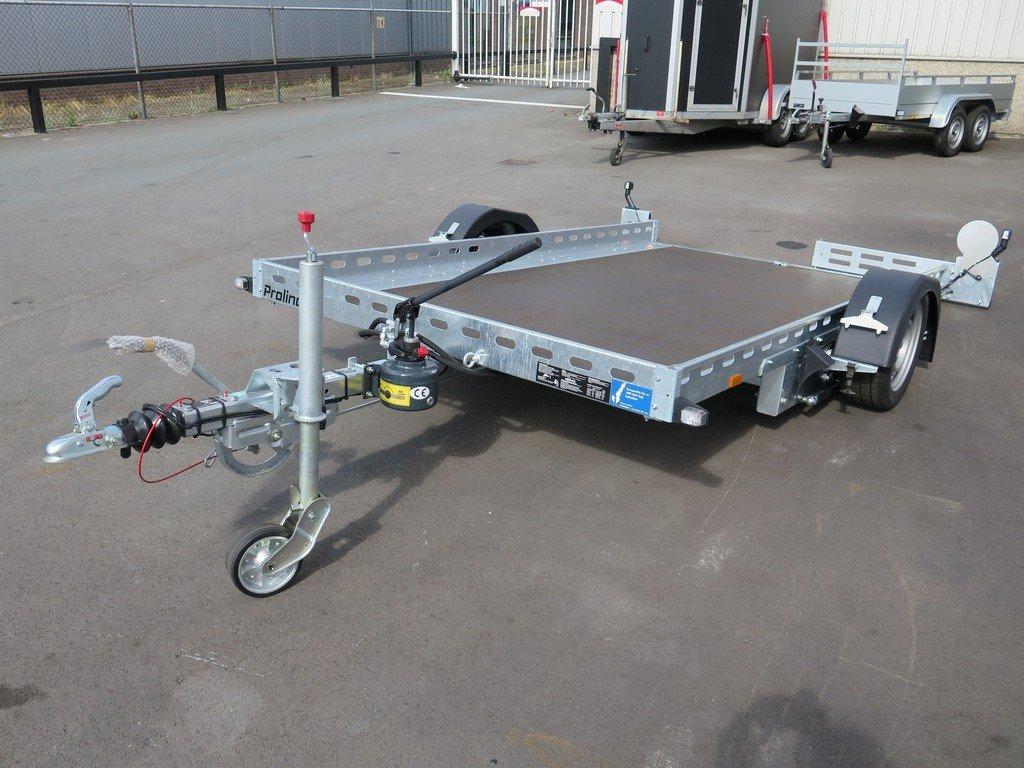 Proline motortrailer 312x180cm 1500kg zakbaar Aanhangwagens XXL West Brabant overzicht Aanhangwagens XXL West Brabant