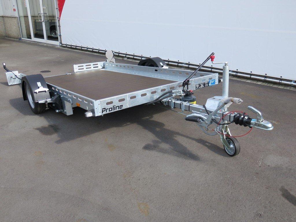 Proline motortrailer 312x180cm 1500kg zakbaar Aanhangwagens XXL West Brabant voorkant Aanhangwagens XXL West Brabant