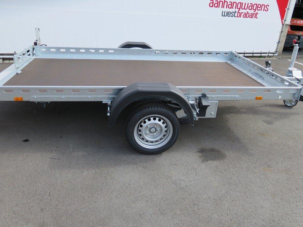 Proline motortrailer 312x180cm 1500kg zakbaar Aanhangwagens XXL West Brabant zijkant Aanhangwagens XXL West Brabant