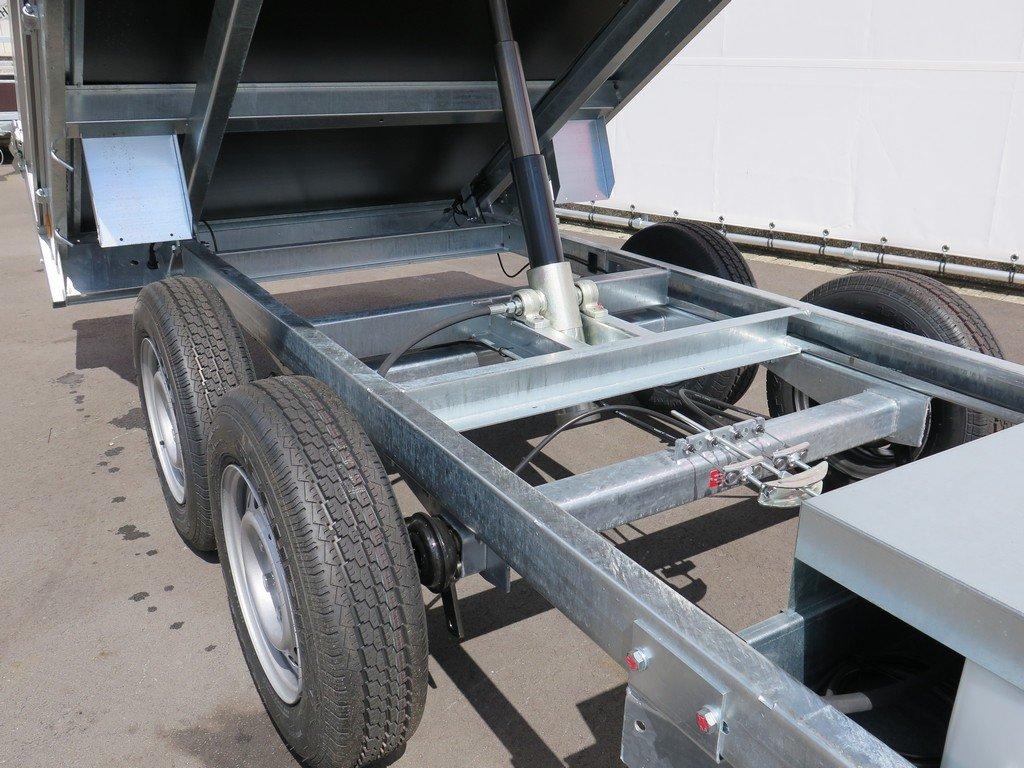 Saris kipper 306x170cm 2700kg eco Aanhangwagens XXL West Brabant kiepcilinder Aanhangwagens XXL West Brabant
