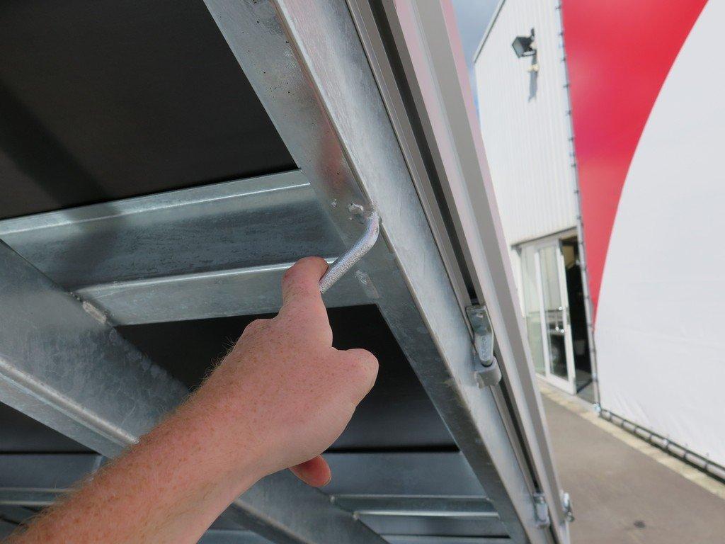 Saris kipper 306x170cm 2700kg eco Aanhangwagens XXL West Brabant touwhaken Aanhangwagens XXL West Brabant
