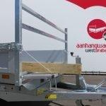 Saris kipper 306x170cm 2700kg eco Aanhangwagens XXL West Brabant voorbord neerklapbaar Aanhangwagens XXL West Brabant