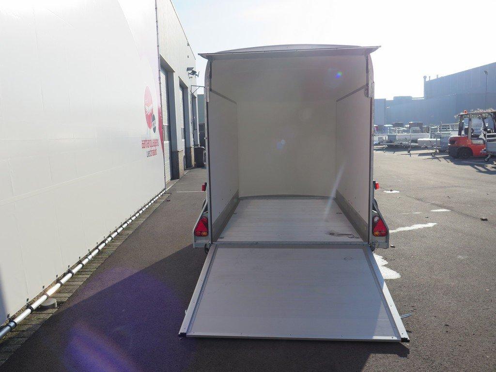 Easyline gesloten aanhanger 313x166x200cm 2000kg PPL Aanhangwagens XXL West Brabant 2.0 achter open Aanhangwagens XXL West Brabant