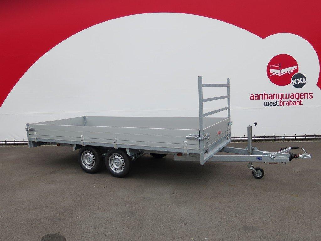 Anssems plateauwagen 405x178cm 2000kg eco Aanhangwagens XXL West Brabant hoofd Aanhangwagens XXL West Brabant