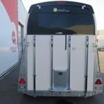 Bucker Careliner L poly 2 paards paardentrailer Aanhangwagens XXL West Brabant achter dicht Aanhangwagens XXL West Brabant