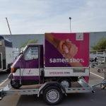 Maatwerk Proline aanhangwagen voor tuktuk Maatwerk Proline aanhangwagen voor tuktuk Aanhangwagens XXL West Brabant hoofd