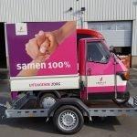 Maatwerk Proline aanhangwagen voor tuktuk Maatwerk Proline aanhangwagen voor tuktuk Aanhangwagens XXL West Brabant overzicht