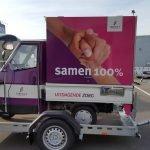 Maatwerk Proline aanhangwagen voor tuktuk Maatwerk Proline aanhangwagen voor tuktuk Aanhangwagens XXL West Brabant zijkant
