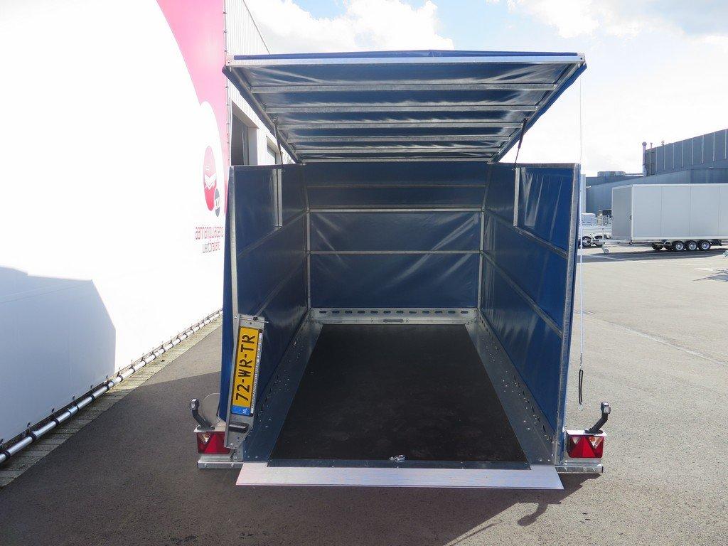 Proline motortrailer 314x180x170cm 1500kg zakbaar met huif Aanhangwagens XXL West Brabant achter open