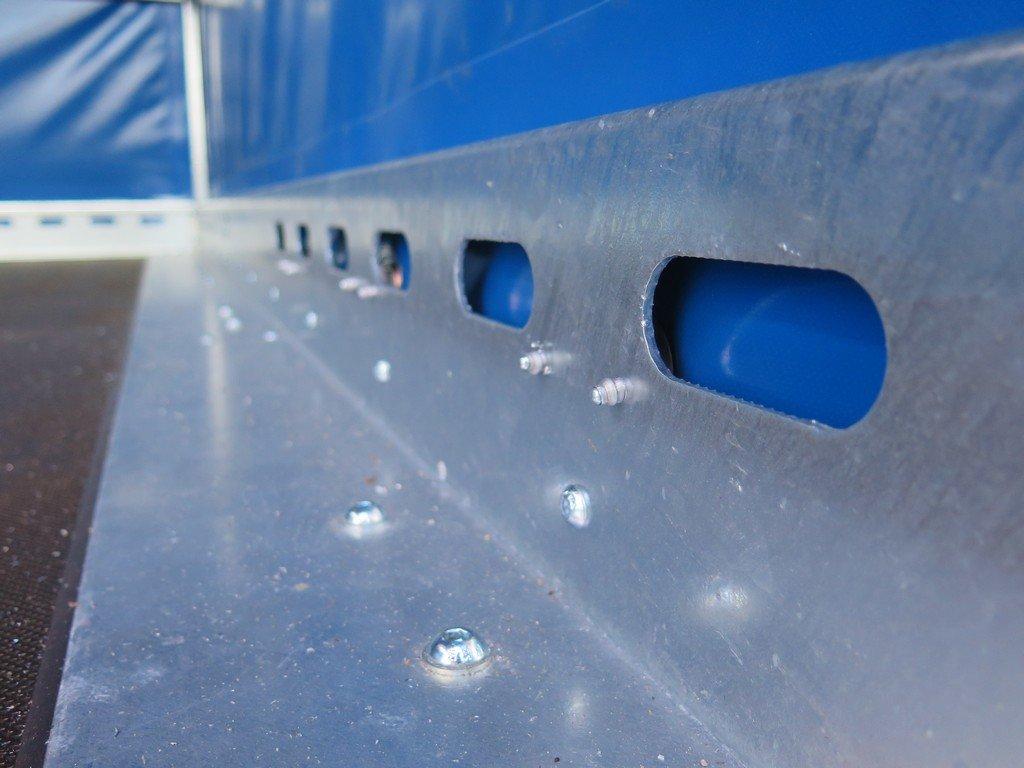 Proline motortrailer 314x180x170cm 1500kg zakbaar met huif Aanhangwagens XXL West Brabant bindreling