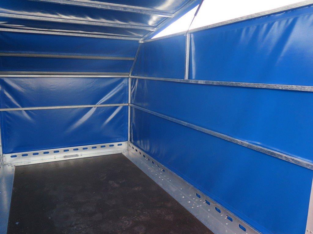 Proline motortrailer 314x180x170cm 1500kg zakbaar met huif Aanhangwagens XXL West Brabant binnenkant