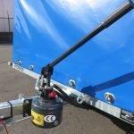 Proline motortrailer 314x180x170cm 1500kg zakbaar met huif Aanhangwagens XXL West Brabant handpomp