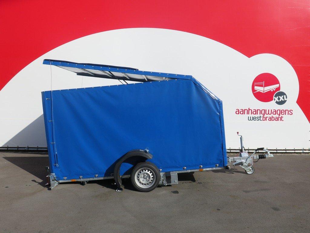 Proline motortrailer 314x180x170cm 1500kg zakbaar met huif Aanhangwagens XXL West Brabant hoofd