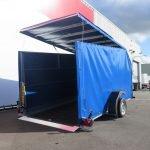 Proline motortrailer 314x180x170cm 1500kg zakbaar met huif Aanhangwagens XXL West Brabant oprijden