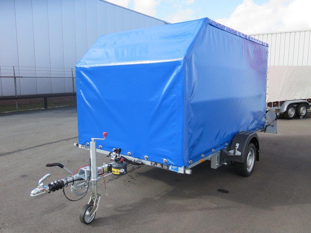 Proline motortrailer 314x180x170cm 1500kg zakbaar met huif Aanhangwagens XXL West Brabant overzicht