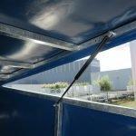 Proline motortrailer 314x180x170cm 1500kg zakbaar met huif Aanhangwagens XXL West Brabant scharnierbare opbouw
