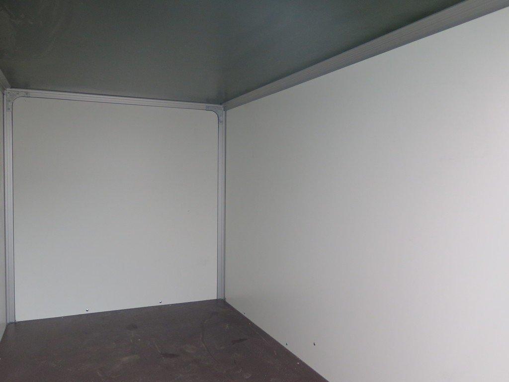 Easyline gesloten aanhanger 250x150x150cm 1450kg Easyline gesloten aanhanger 250x150x150cm 1350kg Aanhangwagens XXL West Brabant binnenkant