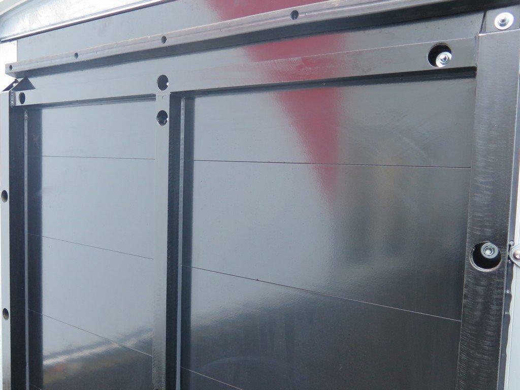 Maatwerk Easyline volpoly gesloten aanhanger Aanhangwagens XXL West Brabant verstevigde achterklep