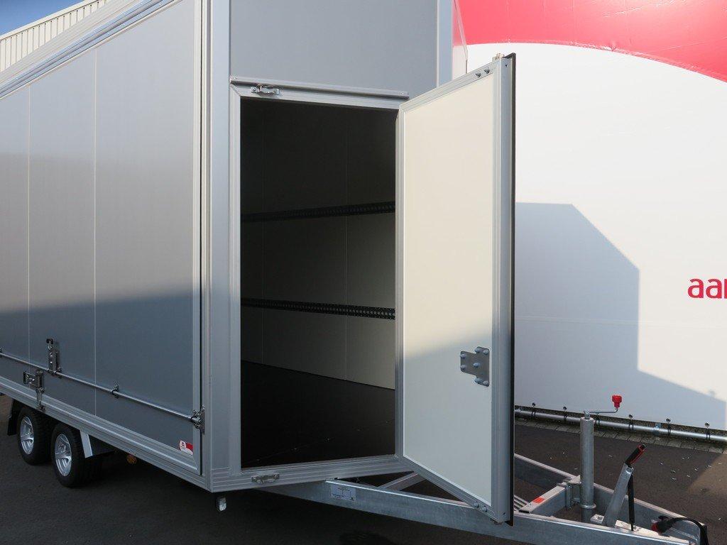 Proline gesloten aanhanger 425x204x250cm 3000kg Aanhangwagens XXL West Brabant voordeur Aanhangwagens XXL West Brabant