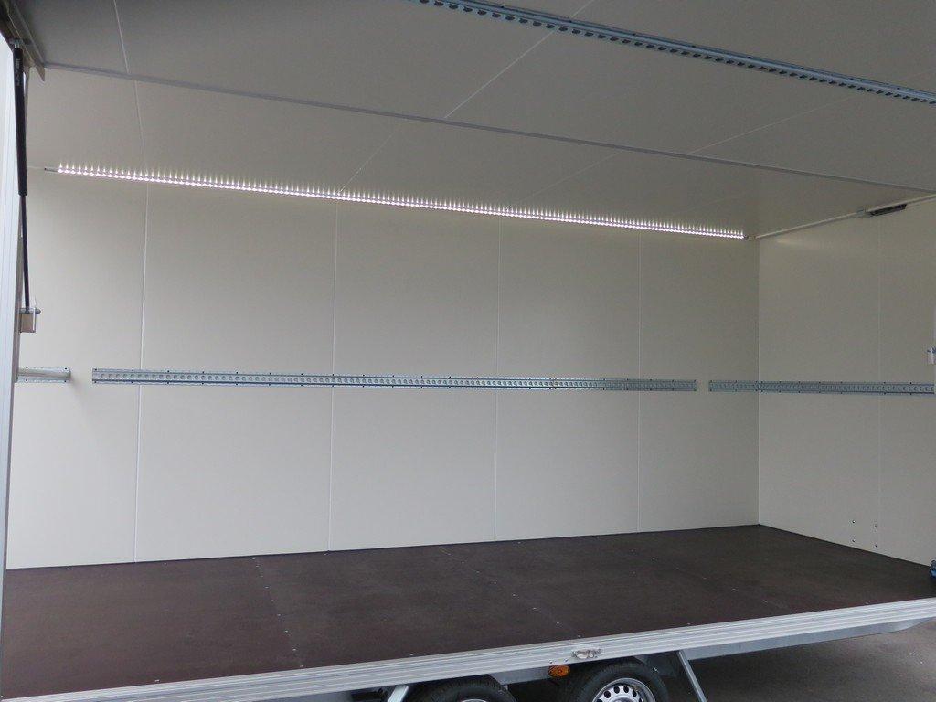 Proline gesloten aanhanger 485x204x210cm 3000kg Aanhangwagens XXL West Brabant binnenkant Aanhangwagens XXL West Brabant