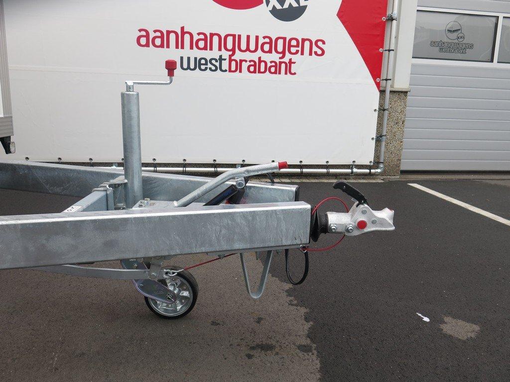 Proline gesloten aanhanger 485x204x210cm 3000kg Aanhangwagens XXL West Brabant dissel Aanhangwagens XXL West Brabant