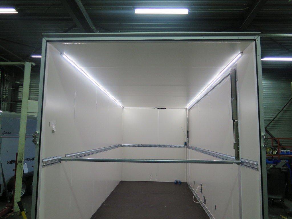 Proline gesloten aanhanger 485x204x210cm 3000kg Aanhangwagens XXL West Brabant ledverlichting Aanhangwagens XXL West Brabant