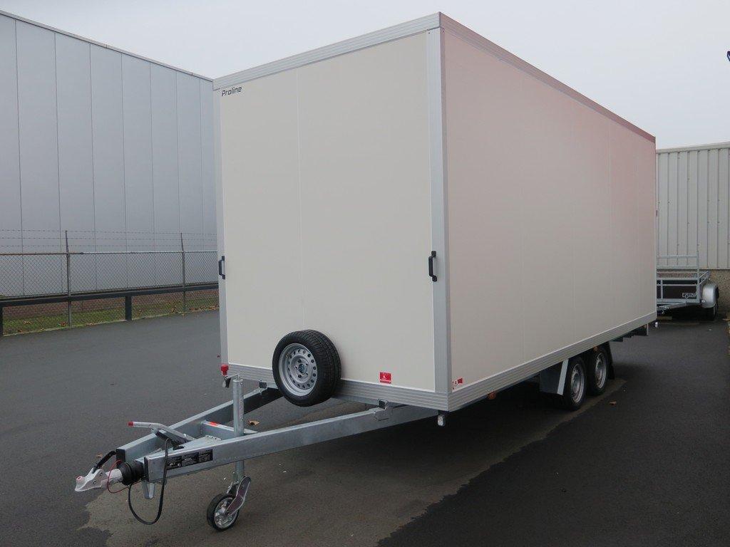 Proline gesloten aanhanger 485x204x210cm 3000kg Aanhangwagens XXL West Brabant overzicht Aanhangwagens XXL West Brabant