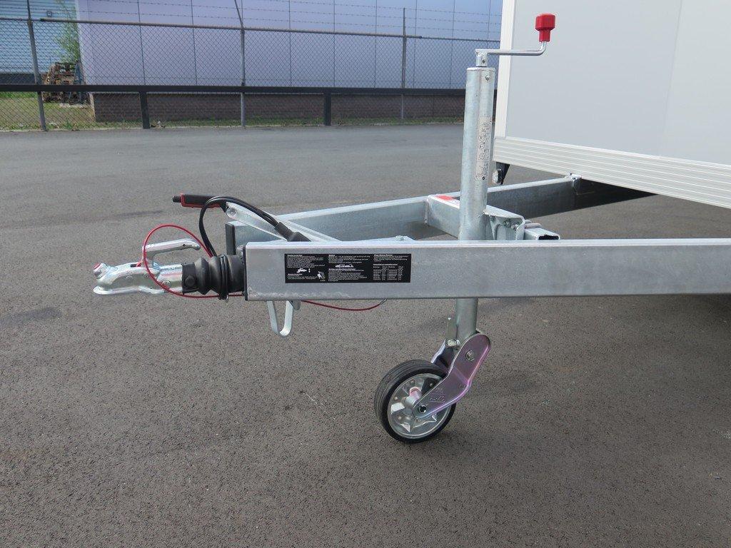 Proline gesloten aanhanger 485x204x210cm 3500kg tridemas Aanhangwagens XXL West Brabant dissel Aanhangwagens XXL West Brabant