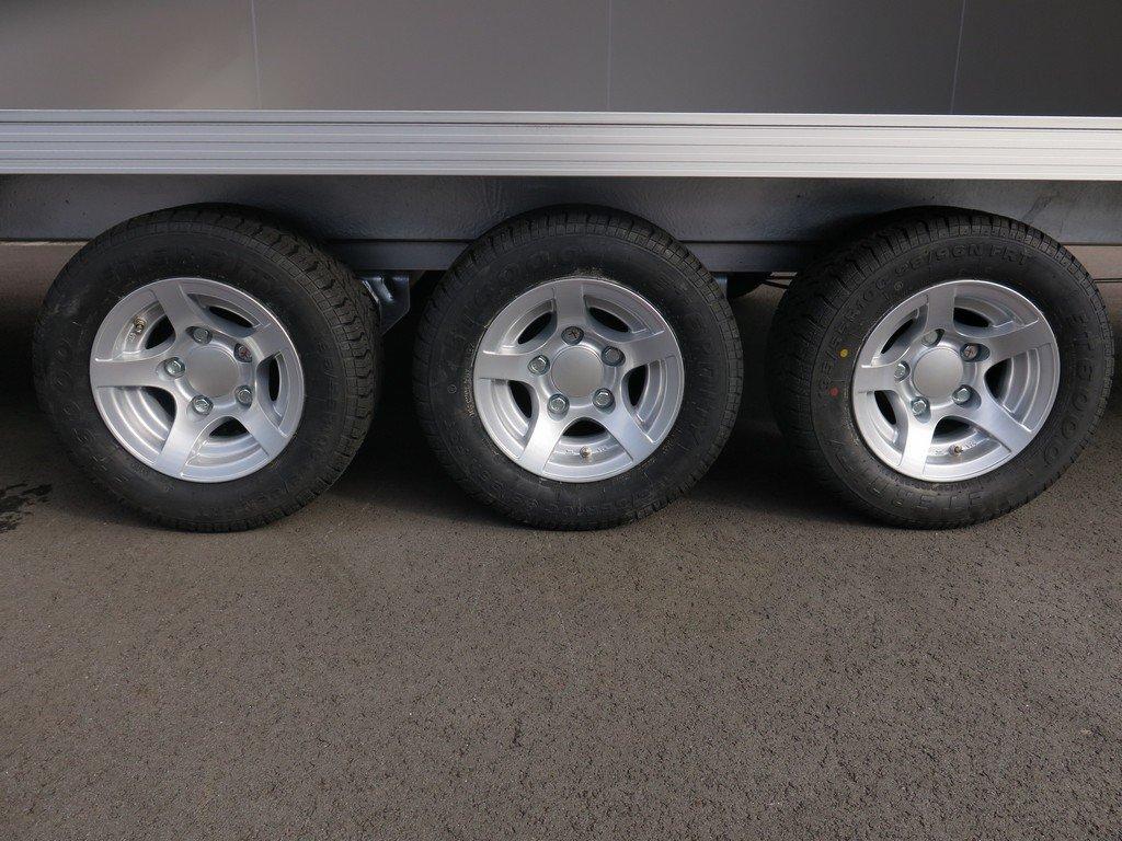 Proline gesloten aanhanger 485x204x210cm 3500kg tridemas Aanhangwagens XXL West Brabant drieassig Aanhangwagens XXL West Brabant