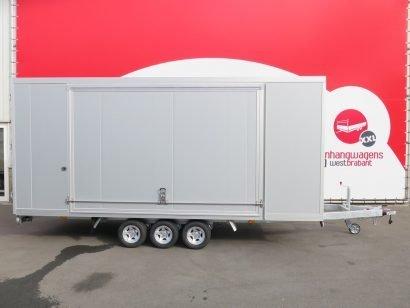 Proline gesloten aanhanger 485x204x210cm 3500kg tridemas Aanhangwagens XXL West Brabant hoofd