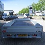 Proline plateauwagen 503x220cm 3500kg verlaagd Aanhangwagens XXL West Brabant achterkant Aanhangwagens XXL West Brabant