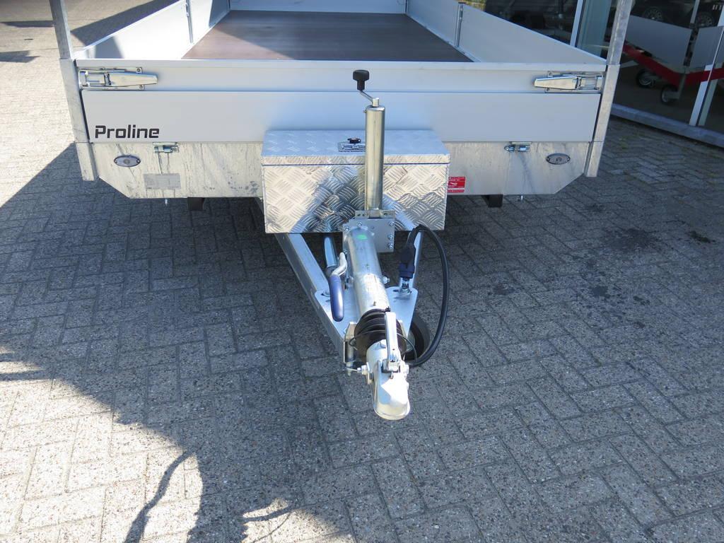 Proline plateauwagen 503x220cm 3500kg verlaagd Aanhangwagens XXL West Brabant dissel Aanhangwagens XXL West Brabant