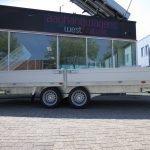Proline plateauwagen 503x220cm 3500kg verlaagd Aanhangwagens XXL West Brabant dubbele as Aanhangwagens XXL West Brabant