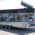 Proline plateauwagen 503x220cm 3500kg verlaagd Aanhangwagens XXL West Brabant hoofd Aanhangwagens XXL West Brabant