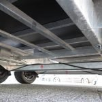 Proline plateauwagen 503x220cm 3500kg verlaagd Aanhangwagens XXL West Brabant onderstel Aanhangwagens XXL West Brabant