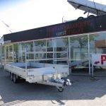 Proline plateauwagen 503x220cm 3500kg verlaagd Aanhangwagens XXL West Brabant overzicht Aanhangwagens XXL West Brabant