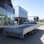 Proline plateauwagen 503x220cm 3500kg verlaagd Aanhangwagens XXL West Brabant zijkant Aanhangwagens XXL West Brabant