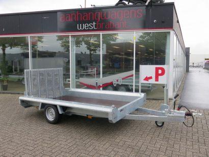 Hulco machinetransporter 300x150cm 1500kg Basic Aanhangwagens XXL West Brabant 2.0 hoofd Aanhangwagens XXL West Brabant