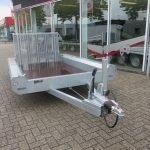 Hulco machinetransporter 300x150cm 1500kg Basic Aanhangwagens XXL West Brabant 2.0 voorkant Aanhangwagens XXL West Brabant