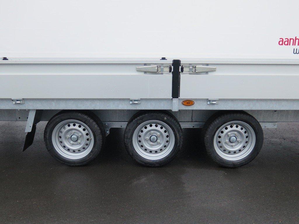Proline plateauwagen 503x202cm 3500kg verlaagd tridemas Aanhangwagens XXL West Brabant 3-as Aanhangwagens XXL West Brabant