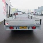Proline plateauwagen 503x202cm 3500kg verlaagd tridemas Aanhangwagens XXL West Brabant achterkant Aanhangwagens XXL West Brabant