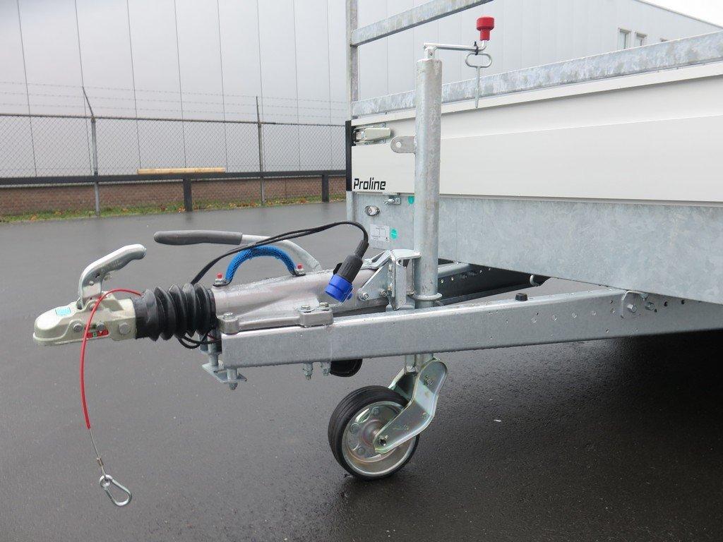 Proline plateauwagen 503x202cm 3500kg verlaagd tridemas Aanhangwagens XXL West Brabant dissel Aanhangwagens XXL West Brabant
