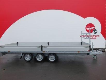 Proline plateauwagen 503x202cm 3500kg verlaagd tridemas Aanhangwagens XXL West Brabant hoofd
