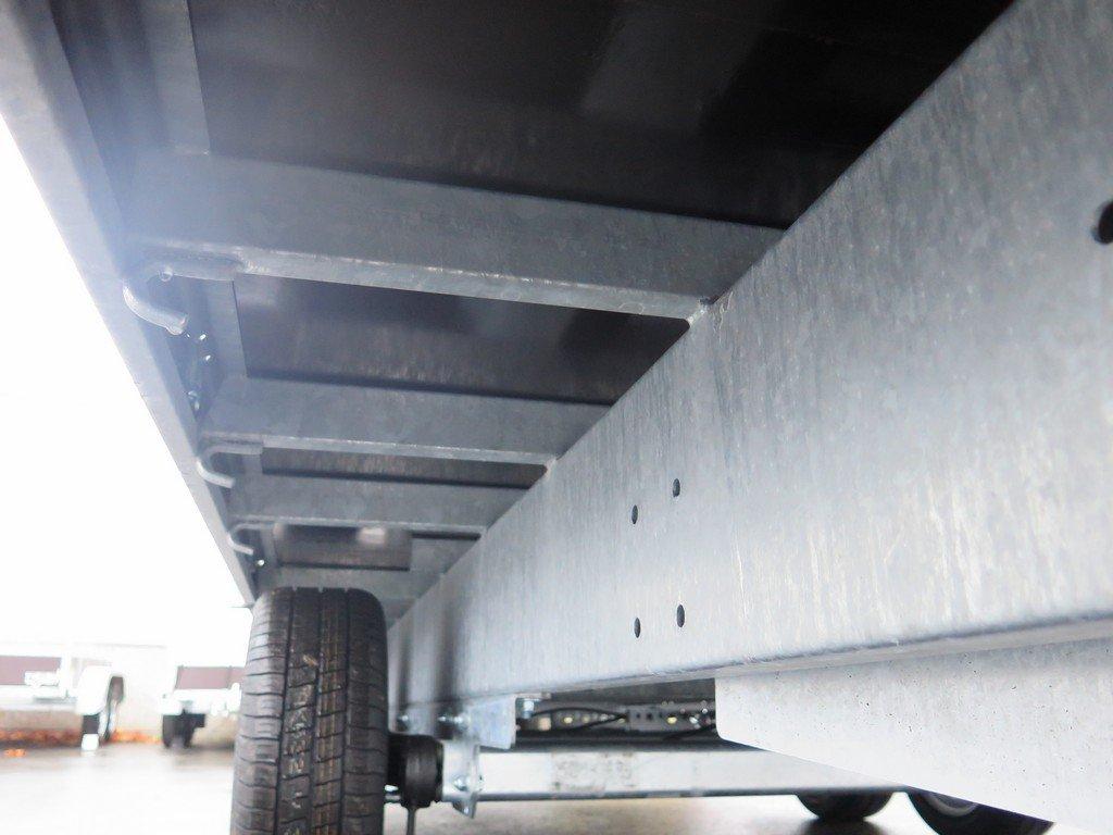 Proline plateauwagen 503x202cm 3500kg verlaagd tridemas Aanhangwagens XXL West Brabant touwhaken Aanhangwagens XXL West Brabant