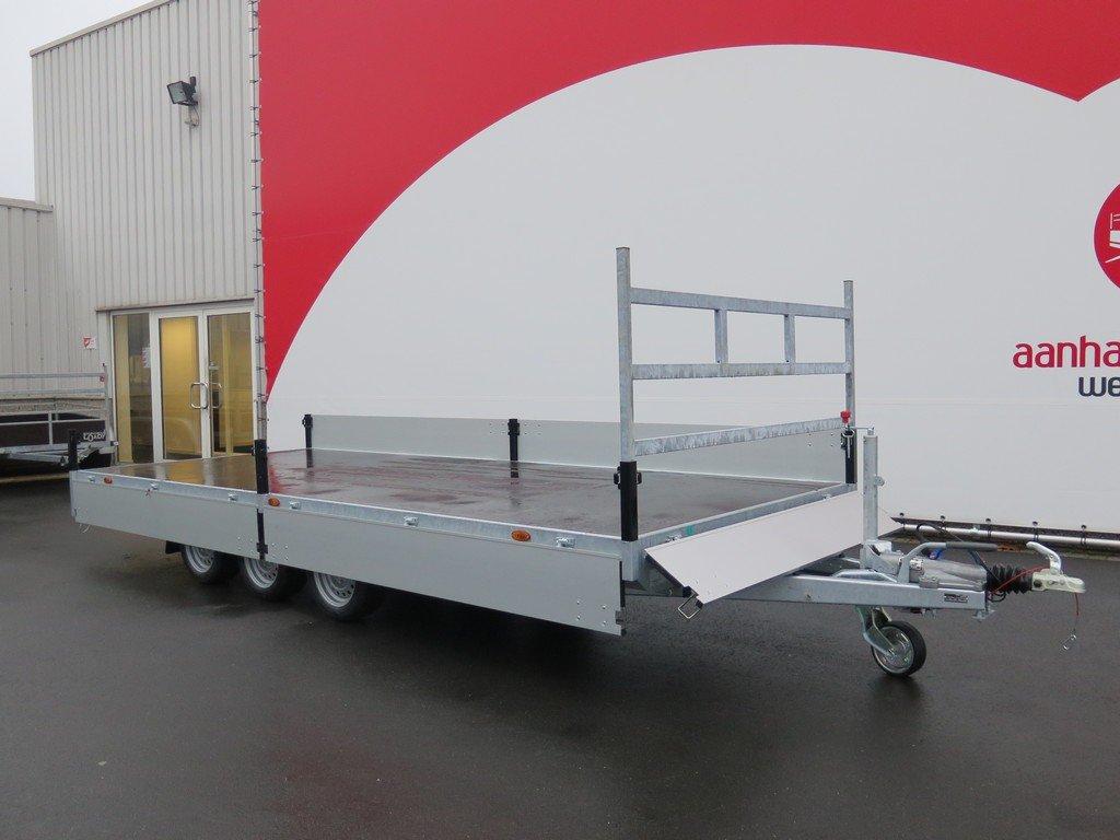 Proline plateauwagen 503x202cm 3500kg verlaagd tridemas Aanhangwagens XXL West Brabant vlak Aanhangwagens XXL West Brabant