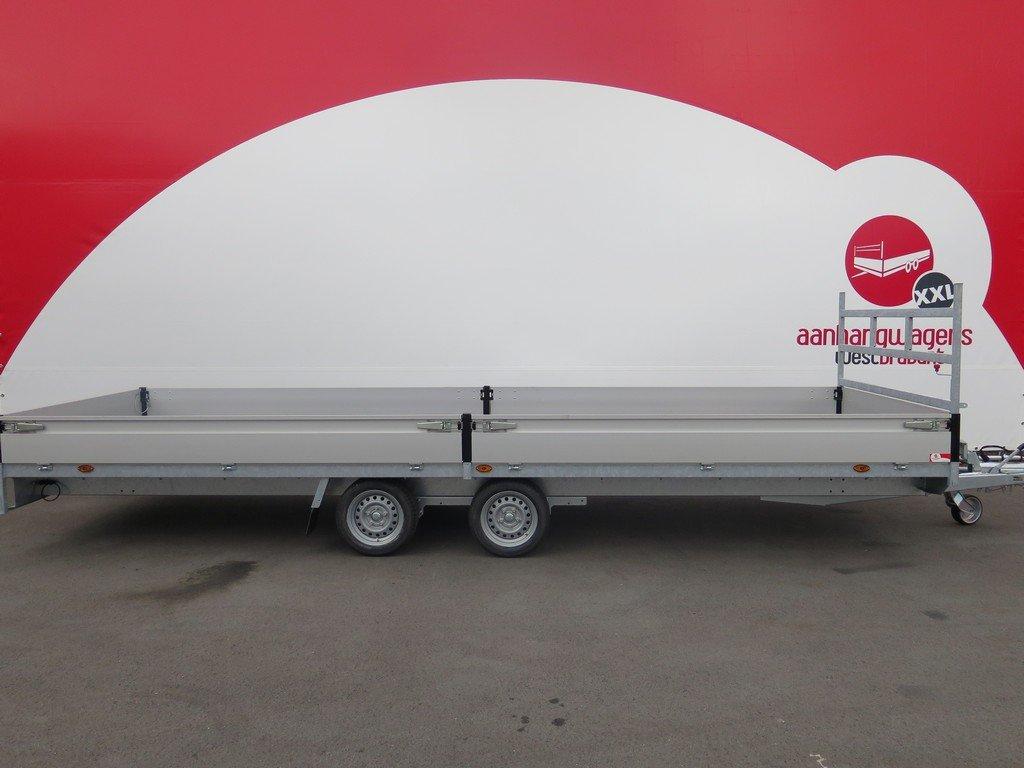 Proline plateauwagen 603x202cm 3500kg verlaagd Aanhangwagens XXL West Brabant 2.0 hoofd