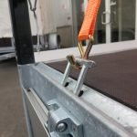 Proline plateauwagen 603x222cm 2700kg verlaagd Aanhangwagens XXL West Brabant 2.0 bindogen Aanhangwagens XXL West Brabant