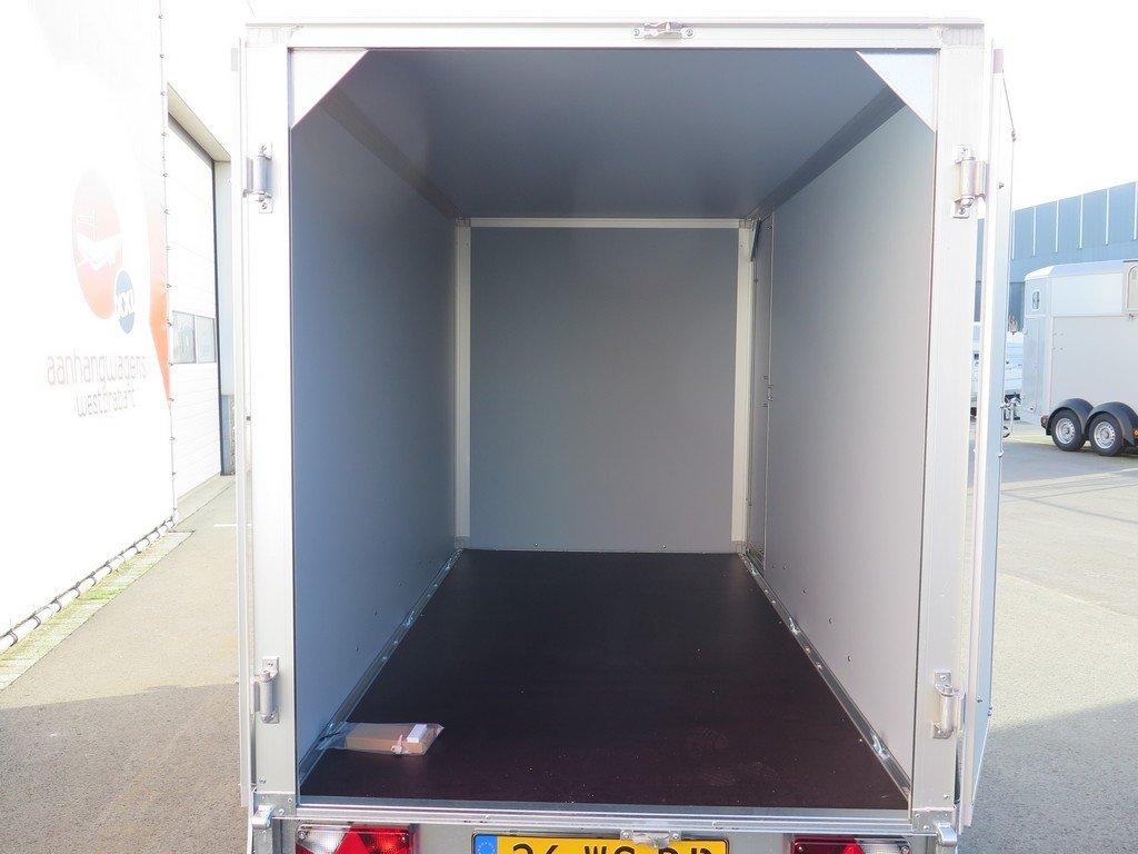 Saris gesloten aanhanger 256x134x150cm 2000kg Aanhangwagens XXL West Brabant 2.0 achter open Aanhangwagens XXL West Brabant