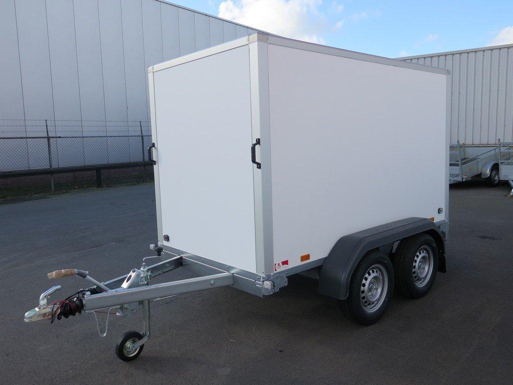 Saris gesloten aanhanger 256x134x150cm 2000kg Aanhangwagens XXL West Brabant 2.0 overzicht Aanhangwagens XXL West Brabant